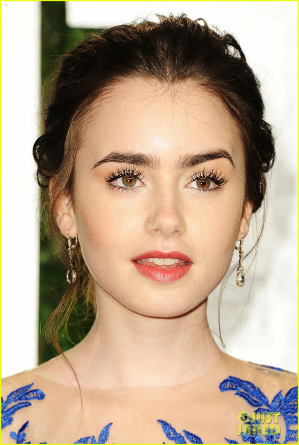 Lily Collins Vanity Fair Oscar Party Lily Collins 29382664 822 1222