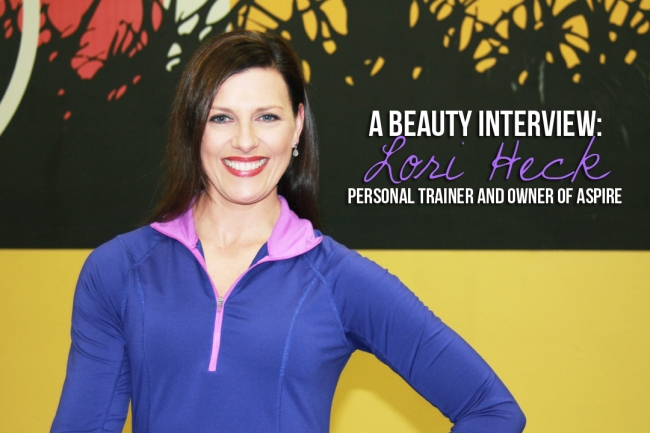 INTERVIEW WITH PERSONAL TRAINER LORI HECK
