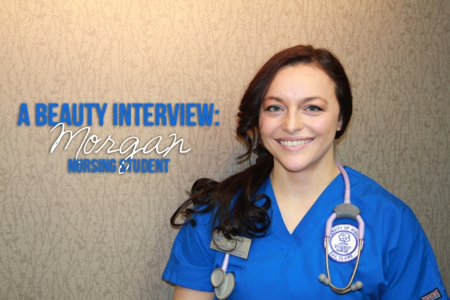 A beauty interview Morgan