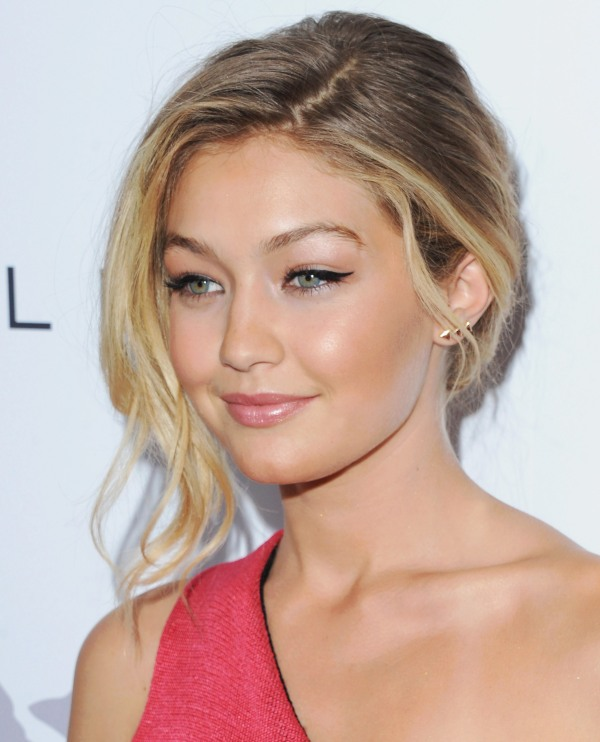 WEST HOLLYWOOD, CA - JANUARY 22:  Model Gigi Hadid arrives at The Daily Front Row's 1st Annual Fashion Los Angeles Awards at Sunset Tower Hotel on January 22, 2015 in West Hollywood, California.  (Photo by Jon Kopaloff/FilmMagic)