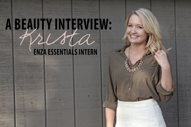 Beauty Interview Krista