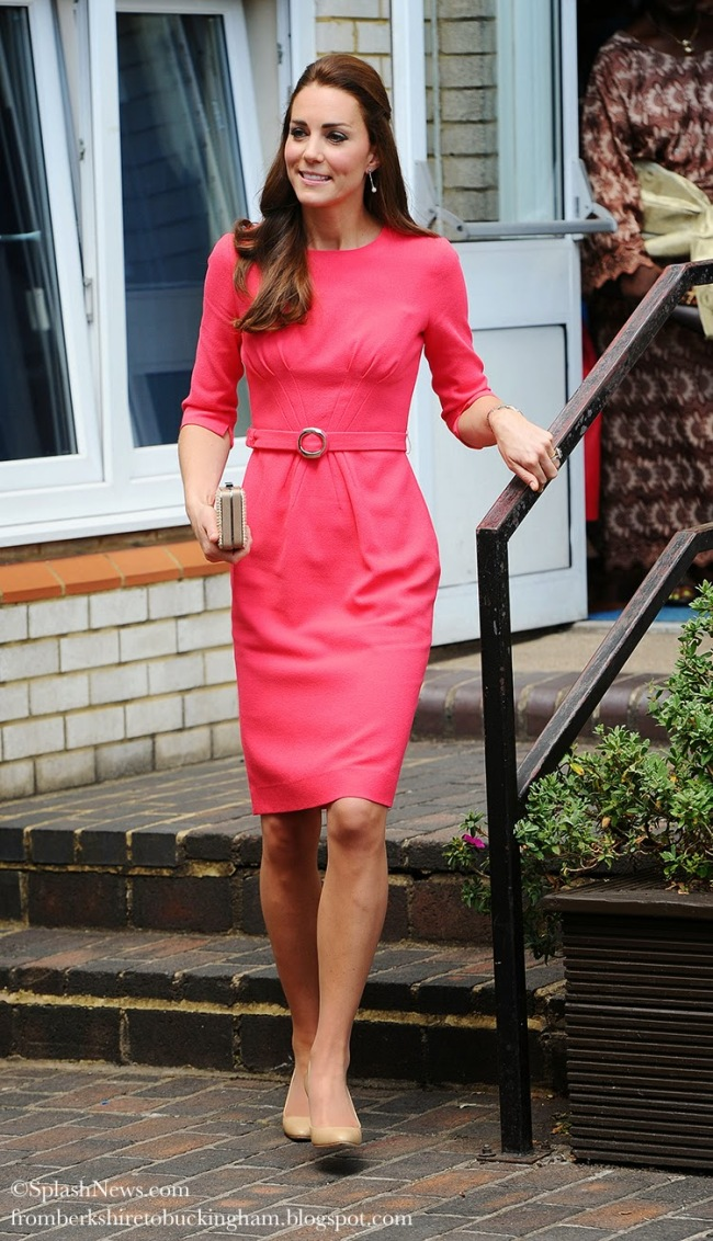kate middleton goat dress blessed sacrament school